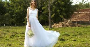 Vestido de noiva da loja O Amor É Simples