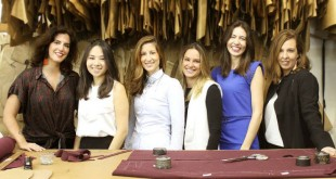 Criadoras do Coletivo Les Amis Nomades: Mariana Cestari, Gabriela Sakate, Laura Borges, Mariana Biondi, Renata Zampronio e Marilia Carvalhinha