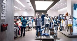 Loja reformada da Hering: a empresa está bancando parte dos custos dos franqueados