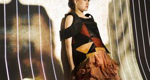 Alunos desenvolveram peças para a semana de moda da Udesc (Foto: Guilherme Dimatos/Divulgação)